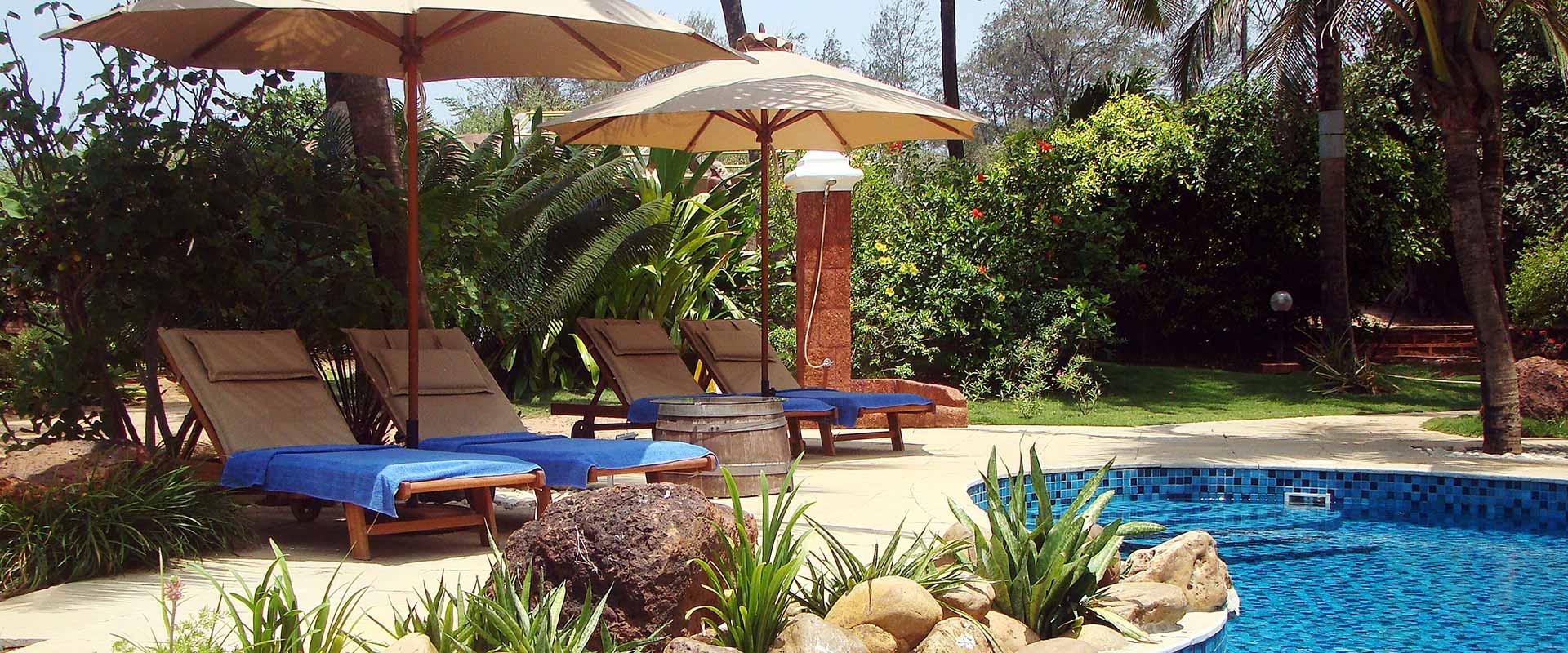 Rockheart Goa – Poolside