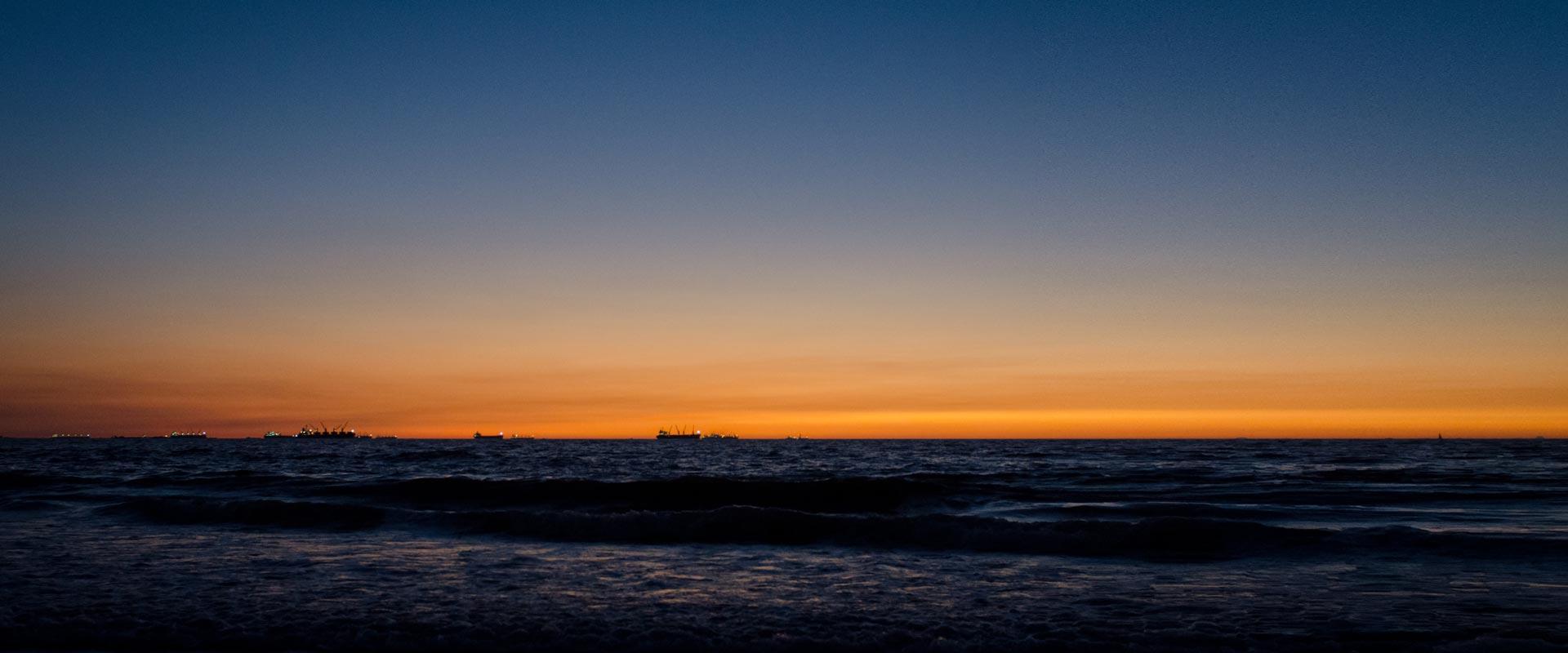 Candolim Beach – Twilight Sky
