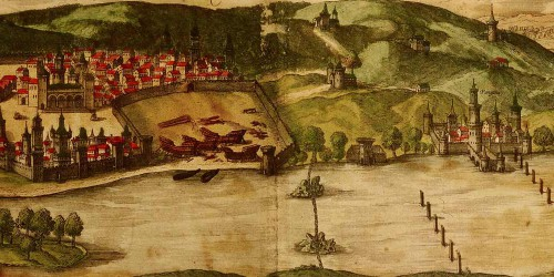 Old Map of Goa