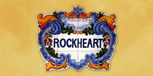 Ceramic Tiles with Rockheart Name