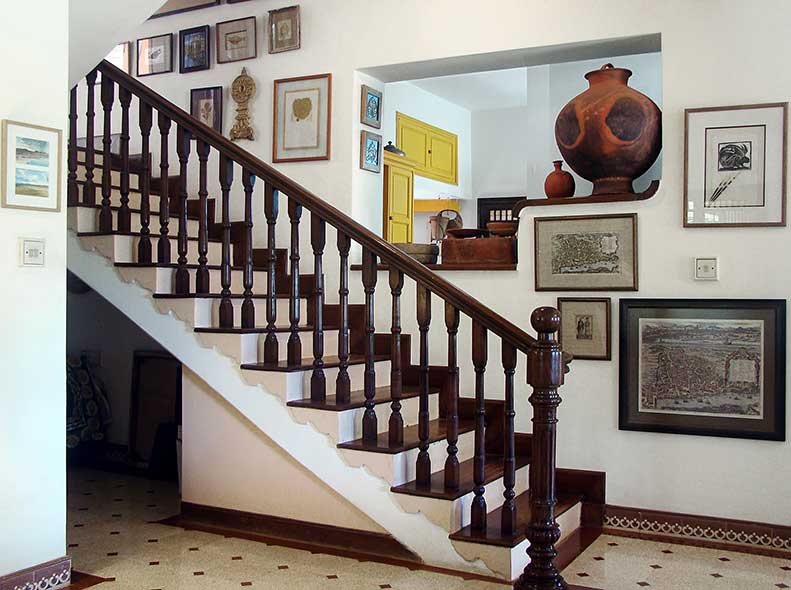 Staircase Leading up to the Master & Second Bedroom at Rockheart
