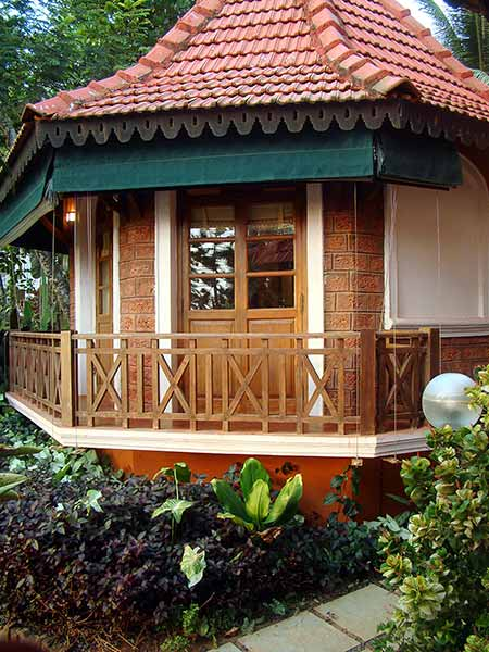 Outside View of the Rockheart Goa Cottage